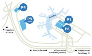 Parkeren bij Schiphol - De verschillende opties